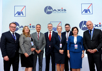 Partnering with AXA Poland for successful event in Warsaw